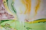 7 - Kde zakoření slunce, vyroste dům, akvarel, A2