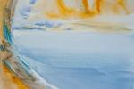 Interstellar, akvarel, A2, v soukromém vlastnictví