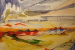 Lake of fire, akvarel, A2