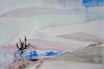 Delirium, akvarel, 69,3 x 50 cm