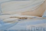 V mlhách, akvarel, 50 x 35 cm